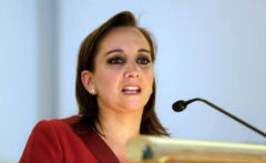 Mexican Foreign Minister Claudia Ruiz