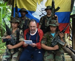 A congressman kidnapped by the FARC in 2002