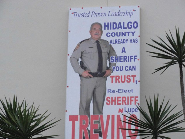 Would you want this man as sheriff?