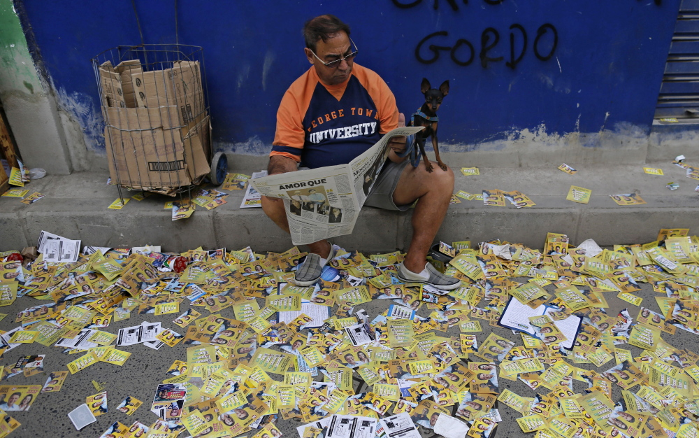 Rio de Janeiro Militias Muscle in on Brazil Elections