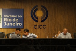 Security officials meet in Rio