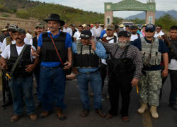 Self-defense forces in Michoacan