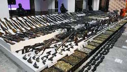 Mexico Seized Enough Illegal Weapons to Arm Navy, Police