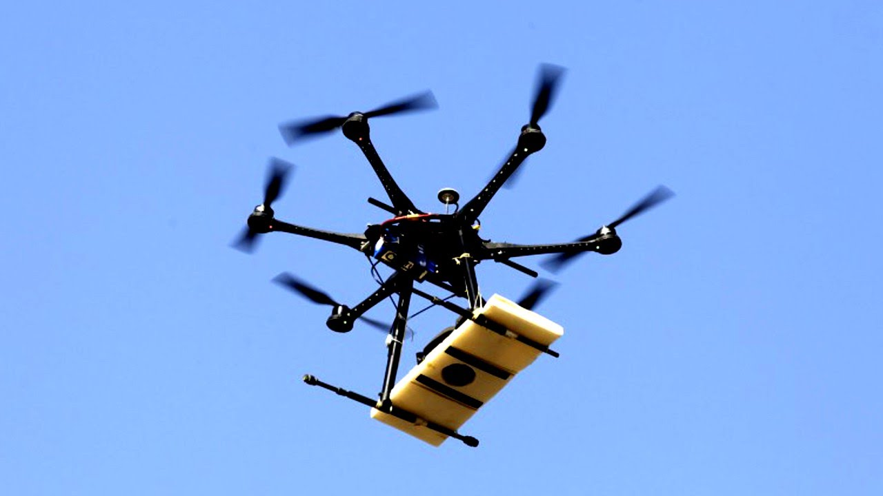 Alternative drug smuggling methods include unmanned drones