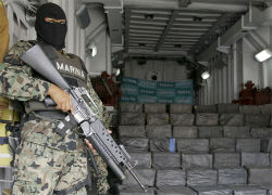 Cocaine Seizures by Mexico's Army Jump 340%