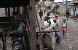 Buenaventura is still in the grips of criminal groups