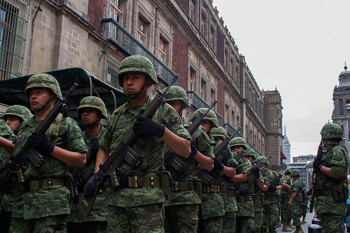 Mexico's Military Follow Their Own Rules in the 'Drug War'