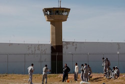 Inmates in a Mexican prison