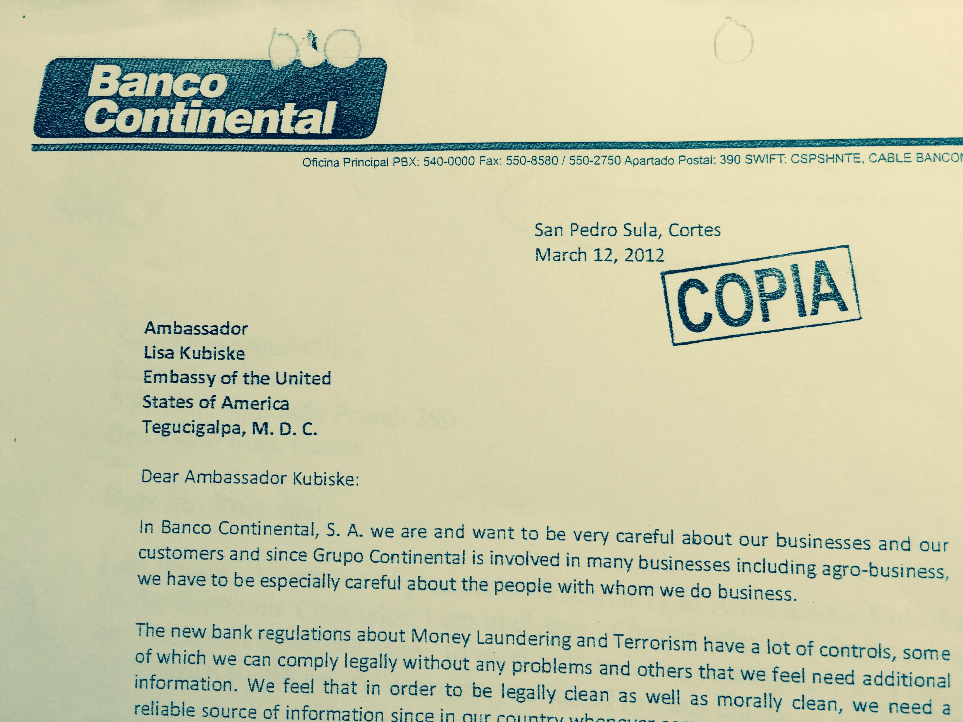 15-10-08-honduras-rosenthal-letter-embassy