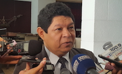 Security and Justice Minister Benito Lara