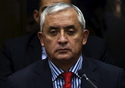Guatemala's Ex-President Accused of Taking Bribe, Betraying 'El Chapo'