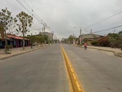 Residents abandoned the streets during the strike