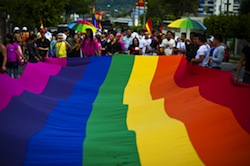 An LGBTI event in El Salvador