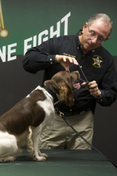 K9 Oscar and Sheriff William Snyder, c/o TCPalm