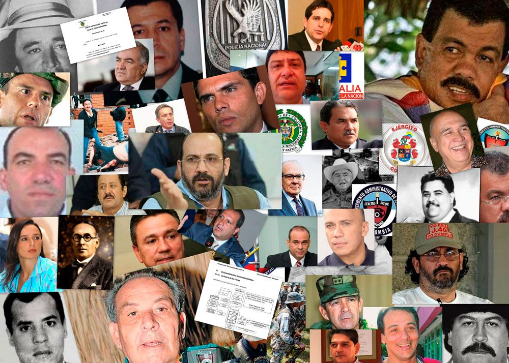 Colombia Elites and Organized Crime