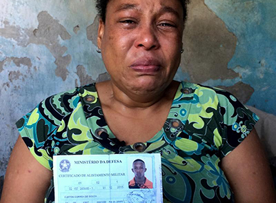 Monica Aparedica Correa's son was killed by police. By César Muñoz Acebes/Human Rights Watch