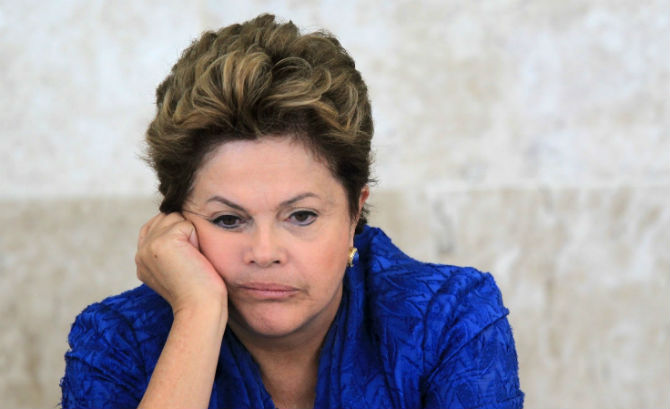 President Dilma Rousseff was removed from obvious amid a widening corruption scandal