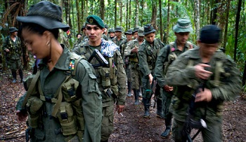 Members of the FARC's Eastern Bloc
