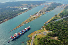 The Panama Canal expansion opened in June