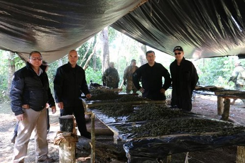 Paraguay, Brazil Joint Operation Nets 67 Metric Tons of Marijuana