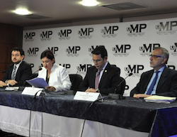 Officials announce the results of the investigation into illegal campaign financing