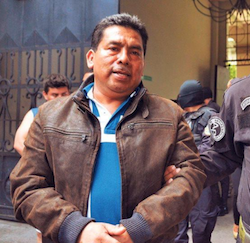 Accused mayor of Apopa, José Elias Hernández