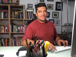 "Humberto Padgett, author of ""Tamaulipas – a caste of narco governors"""