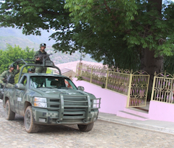 Security forces deployed to Badiraguato