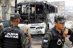 Extortion costs the Honduran economy an estimated $200 million per year, and particularly affects the transportation industry