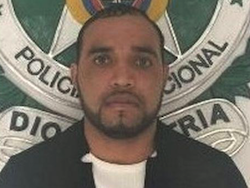 "Police photo of ""Caracol"" after his arrest"