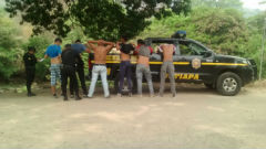 Alleged Salvadoran gang members apprehended on the Guatemala border