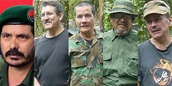 Members of the ELN's top command