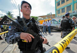 Rio Favelas Fear Police More Than Drug Traffickers: Survey