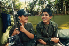 The FARC are set to release minors from their ranks