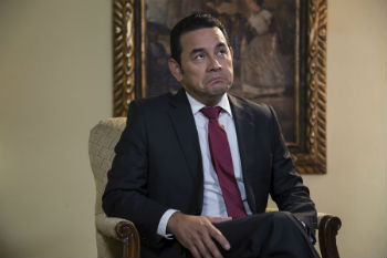 Corruption Casts a Shadow Over Another Guatemala President