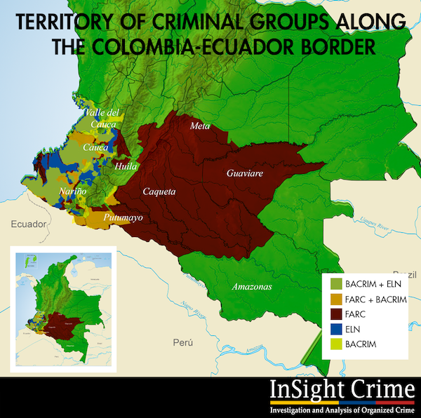 Mapping of Colombia Homicide Data Reflects Regional Dynamics