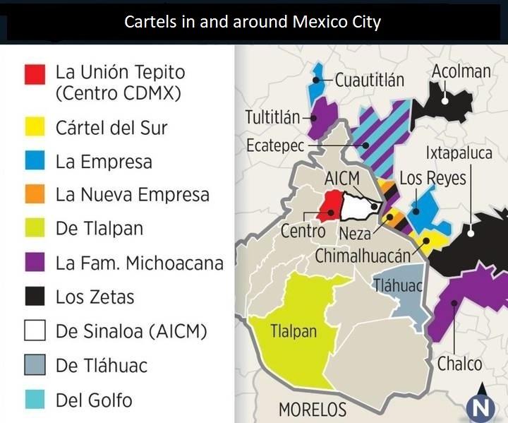 17 08 02 Mexico Map 2 Cdmx