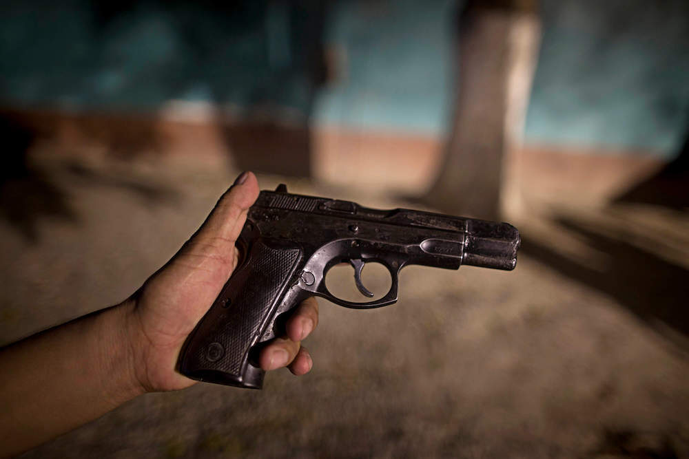 Trafficking Firearms Into Honduras