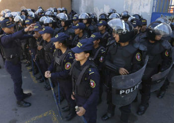 Police in Honduras are getting new uniforms to combat officer impersonation
