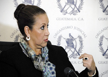 Supreme Court magistrate Blanca Stalling