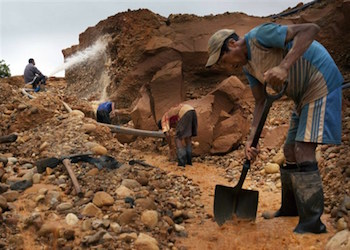 Illegal mining is a multibillion-dollar industry in Latin America