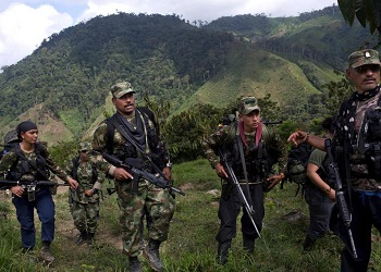 The state has not yet occupied all areas left behind by the FARC guerrillas