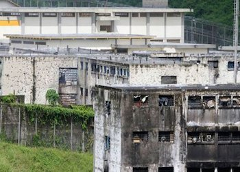Venezuela's General Penitentiary, the site of the mass grave
