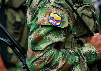 117 self-identified FARC militias handed themselves in
