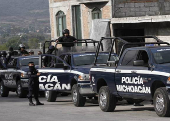 Police forces in Mexico's state of Michoacán