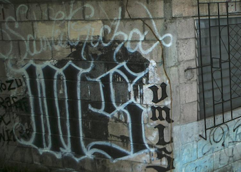 MS13 graffiti in the United States