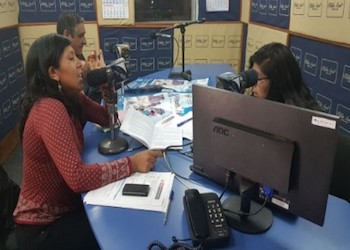 A radio program aimed at preventing and detecting human trafficking is broadcast in Spanish, Quechua and Aymara