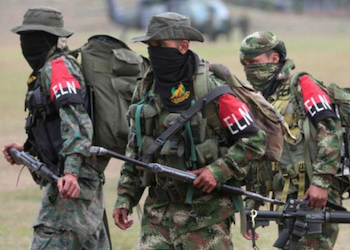 ELN fighters