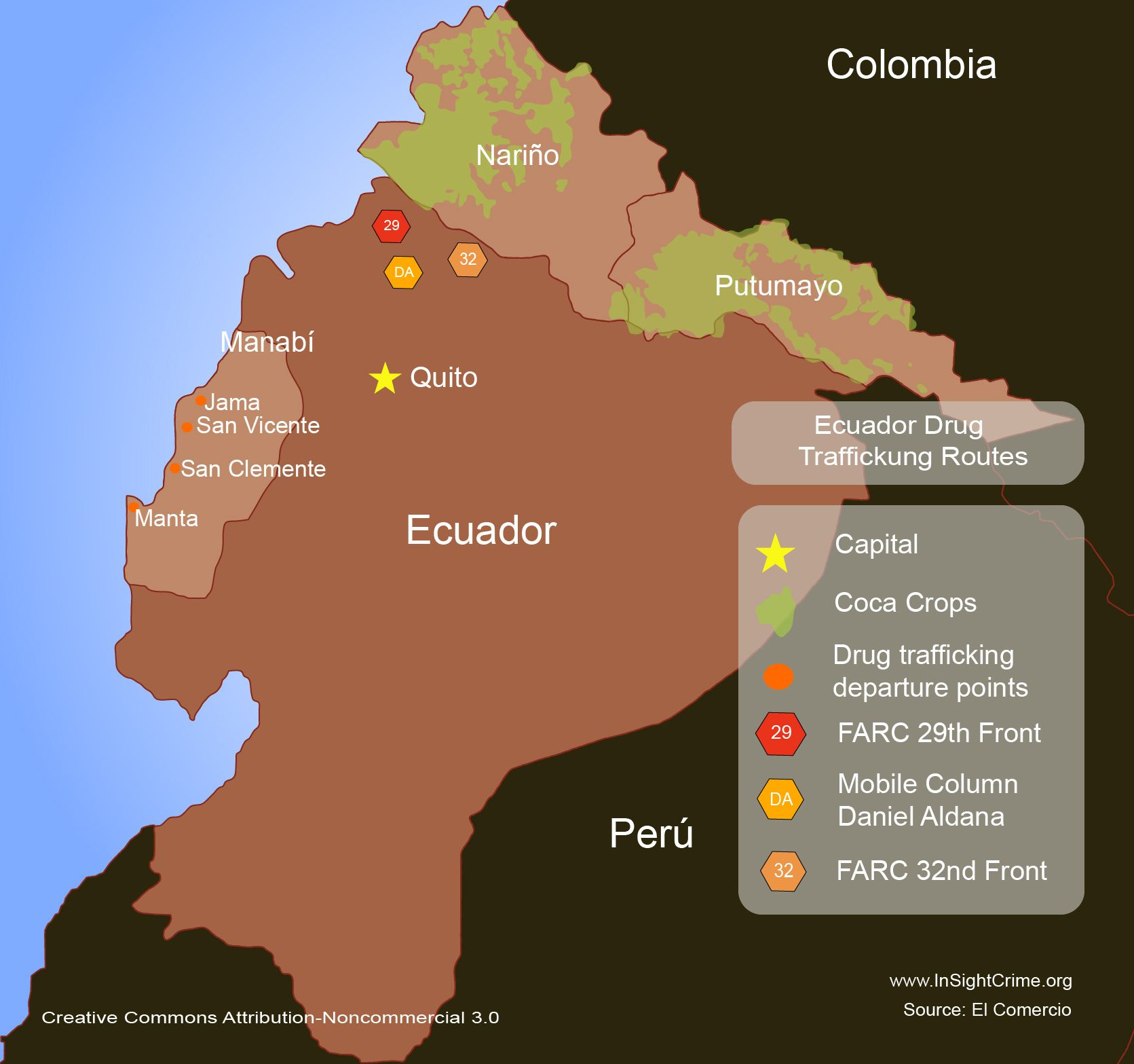 Ecuador drug trafficking routes1