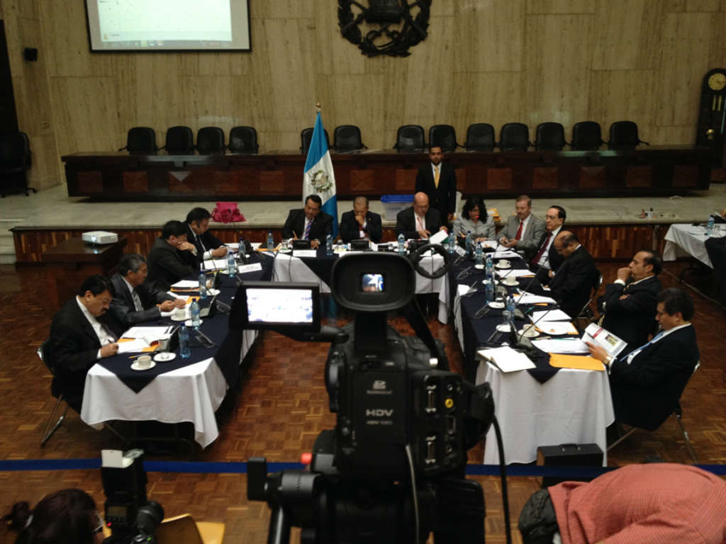 The War for Guatemala's Courts